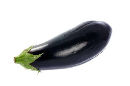 aubergine isolated on white background Stock Photo