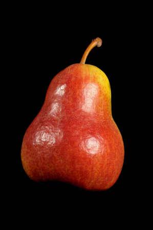 closeup from a fresh pear