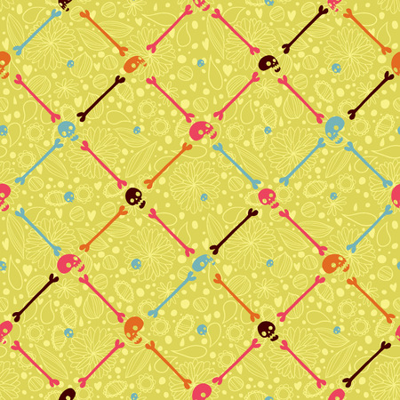 Vector pattern for web page backgrounds, postcards, greeting cards, invitations, pattern fills, surface textures  Great for children bedroom  Vector