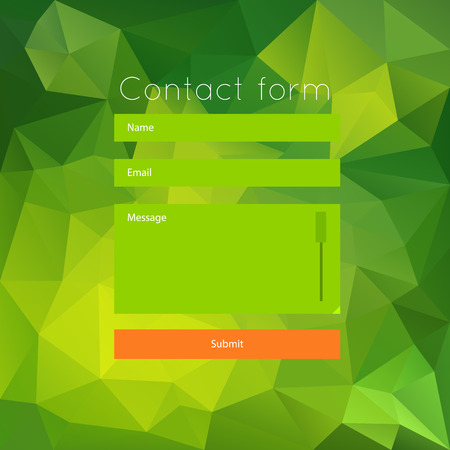 Simple abstract vector for games presentations, ui tablets, smart phones. Vector