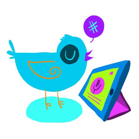 The vector illustration for ui, web games, tablets, wallpapers, and patterns. Ilustração