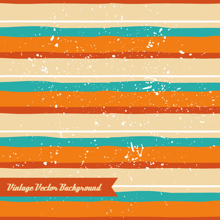 The vector hand draw background. Best for wedding cards, bedroom, bags. Horizontal stripes. Imagens - 65216744