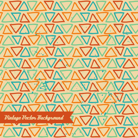The vector hand draw background. Best for wedding cards, bedroom, bags. Triangles