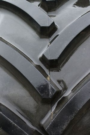 Close-up of tractor tire tread as background. Stock Photo - 5819098