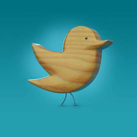 bulk memory: wooden 3D bird icon with legs and an eye,