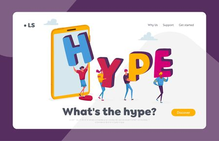 Blogger Spread Hype Viral Info in Social Network Landing Page Template