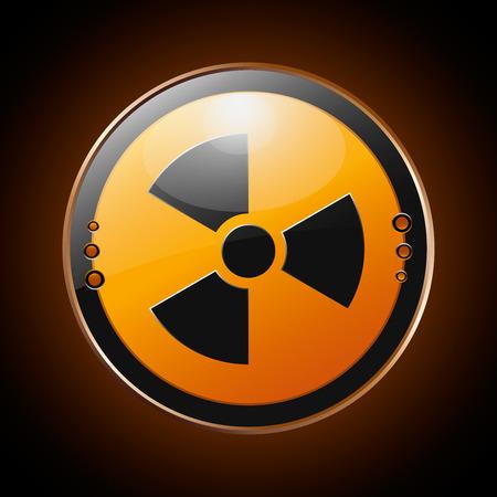 Nuclear radioactive symbol  EPS 10  Vector illustration Stock Vector - 29419656