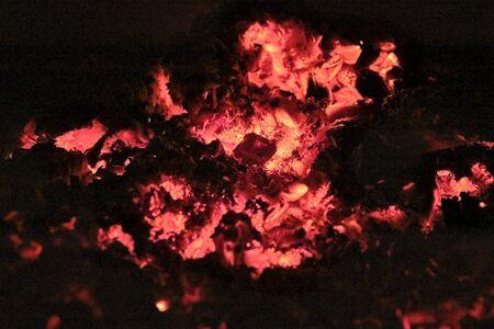 wood burning close-up macro low light Zdjęcie Seryjne