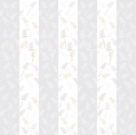 flowers striped ornament background  grey pink colours Vector