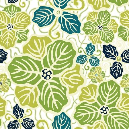Beautiful flower seamless pattern vector illustration texture