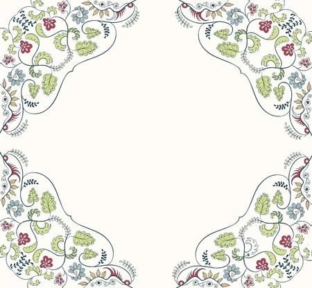 ornament floral background