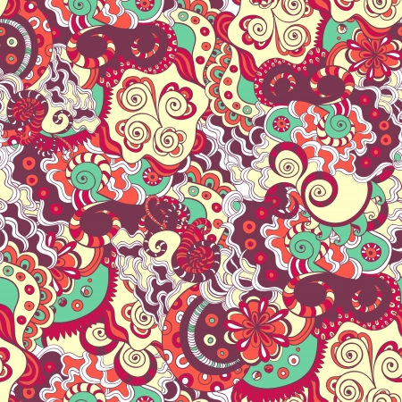 Seamless detailed floral ornament texture Stock Vector - 17459195