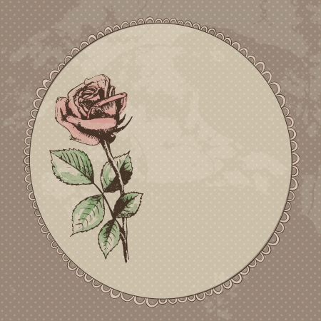 rose: Vintage roses background