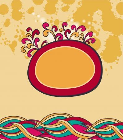 farme: Doodle farme colorato