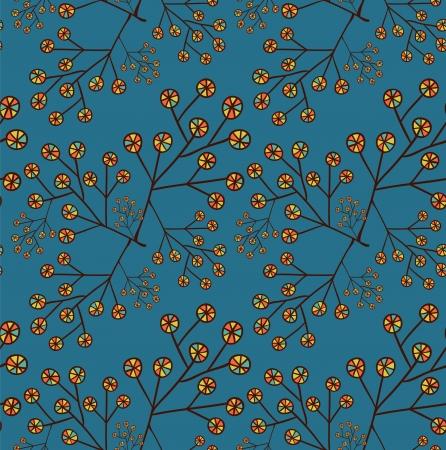 Stylized flower background
