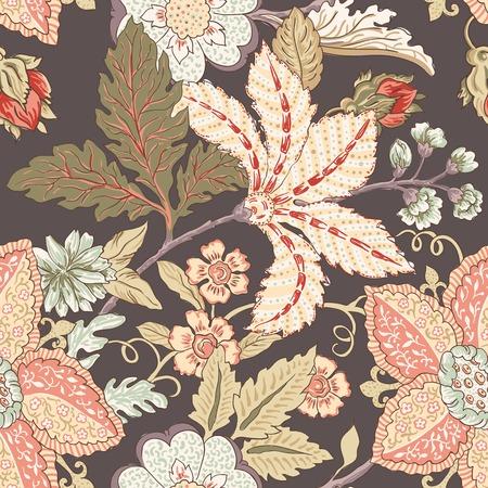 pattern flower: Vintage flower pattern