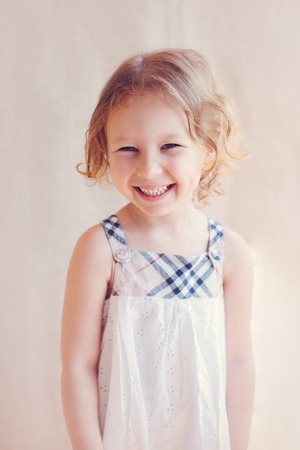 blithe: portrait of adorable little girl