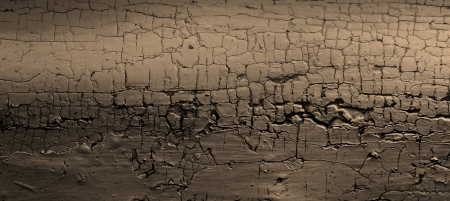 the background image of brown texture of cracks on a wall