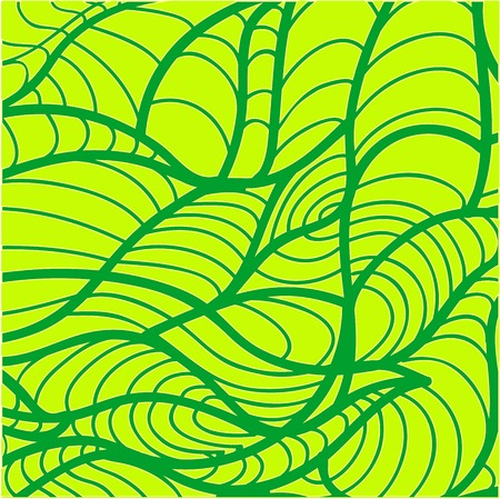 abstract pattern of green leaves for design