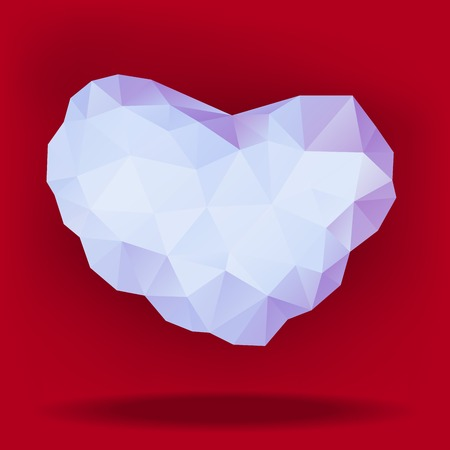 illustration of precious heart for happy valentines day Vector