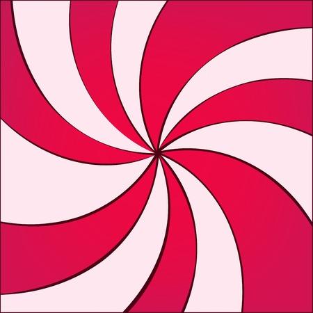 twirled: illustrazione vettoriale di sfondo twirled per la progettazione