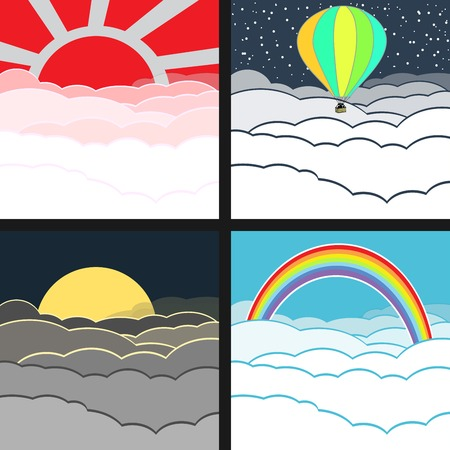 cloudy: cloudy background