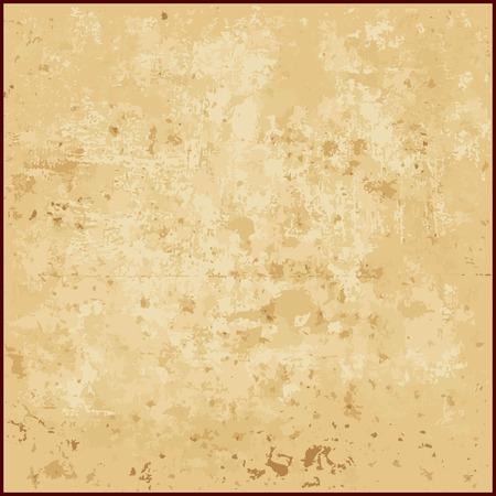 ベージュ トーンのベクトルの抽象的なグランジ背景