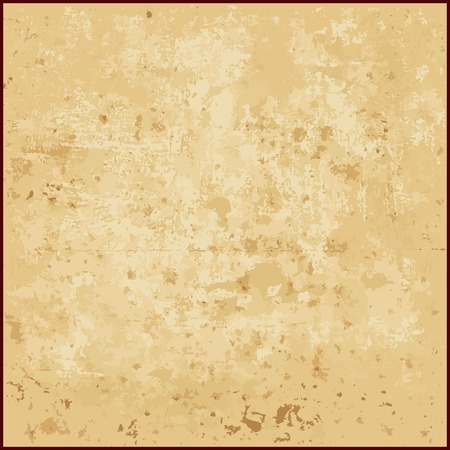 grunge frame: Vector abstract grunge background of beige tones