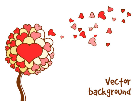 st  valentine's day: Background for St. Valentines Day. Vector illustration