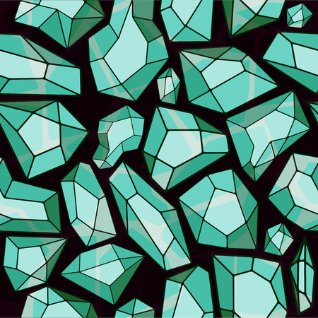 ice crystal: Abstract ice crystal background. Seamless vector pattern for design Illustration
