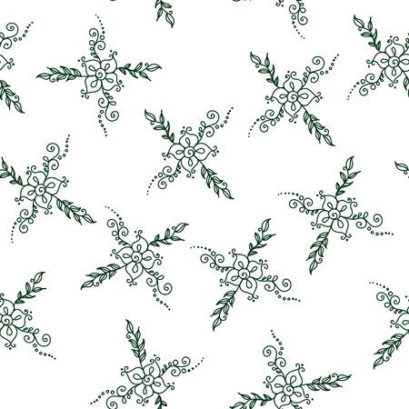 mendie: Seamless flower pattern. Stock background for design