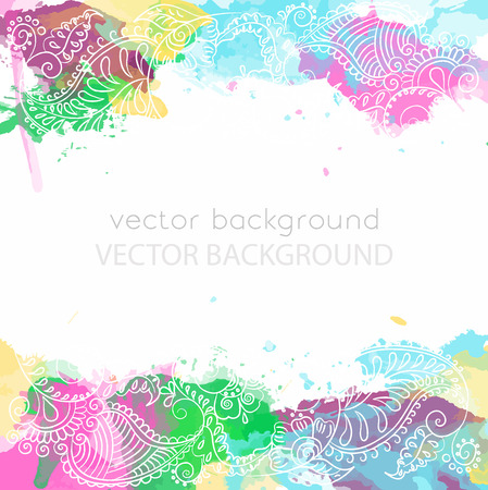 Abstract colorful pattern. Illustration