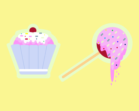candy apple: lovely sweets: cakes and candy apple