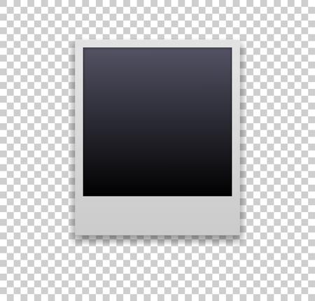 kader. Bewerkbaar met transparante achtergrond. albumelement Vector Illustratie