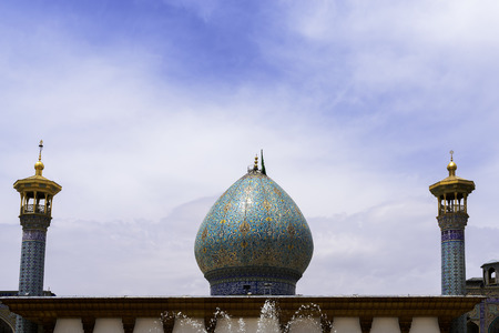 shiraz: Shah-e-Cheragh complex Shrine and mausoleum in Shiraz,Iran