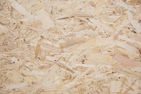 Wood texture. Osb wood board for background decoration Imagens - 130127912