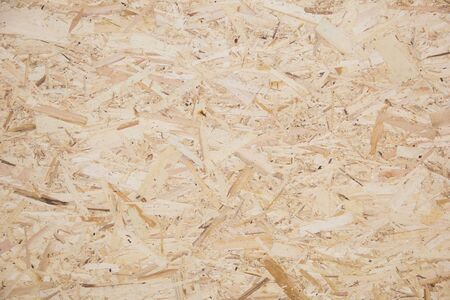 Wood texture. Osb wood board for background decoration Imagens - 130127914