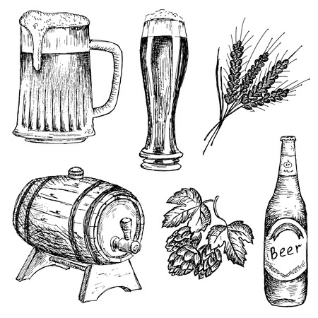 made by hand: bitter beer