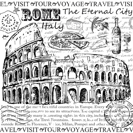 food groups: rome italy