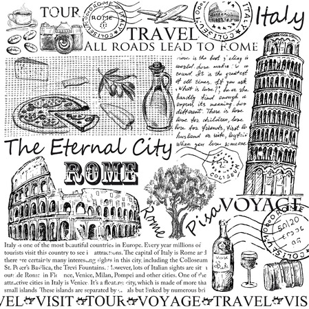 drawings image: rome italy