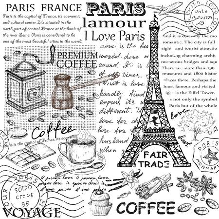 eiffel: Paris Eiffel Tower Illustration