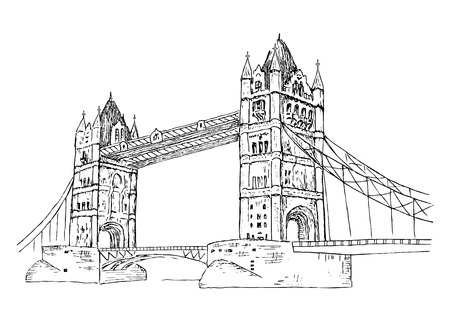 Tower Bridge 版權商用圖片 - 39760159