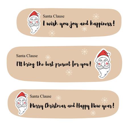 산타 클로스 메시지