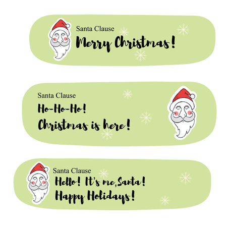 clause: Santa Clause messages