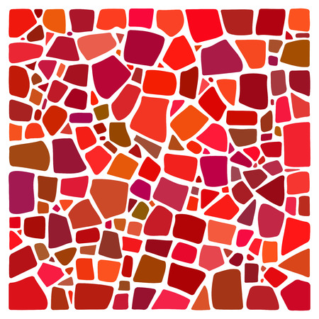 mosaic: Colorful  background in mosaic tile style. NOT a PATTERN. Mosaic style square. Ceramic tile fragments. Abstract Mosaic texture. Mosaic design element. Mosaic background. Easy to recolor.