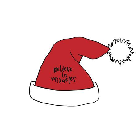 Santa Claus red hat Christmas decoration.