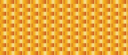 Wicker basket background. Smooth gradient weave texture for poster, banner, cover. Vector illustration. Zdjęcie Seryjne - 130811913