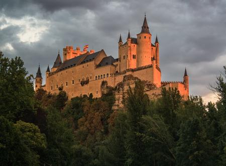 Alcazar, Segovia, SPain Editorial