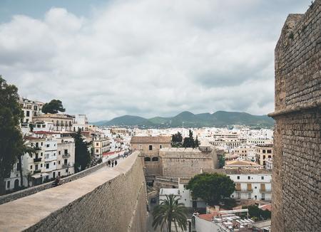 Old area of Dalt Vila, in Ibiza, Spain