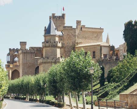 Medieval castle of Olite, Navarra, Spain